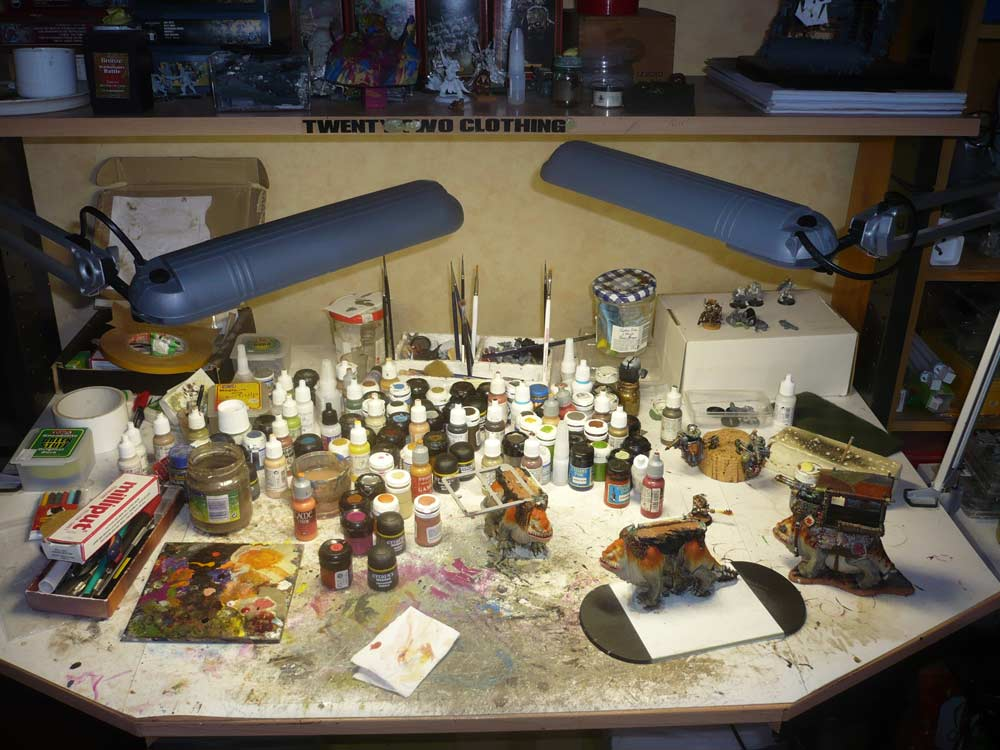 Eclairage pour peinture ATELIER-001